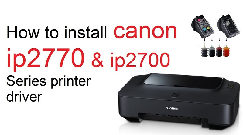 Cara Menginstall Driver Printer Canon ip2770
